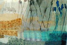 Fabric and Collage Landscapes