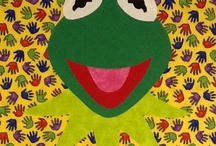 Muppet  and friends quilt blocks