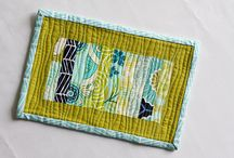 Inspiration and DIY - Mini Quilts, Mug Rugs, and Prayer Flags / by Lisa Rollins