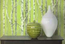Wallpaper / If only I owned a home with 50 rooms / by Deborah Fortino