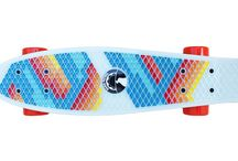 Colored Penny Skateboard / Modified Penny style skateboards. We make new ones every month. Check us out : www.dawnpatrolmontreal.com