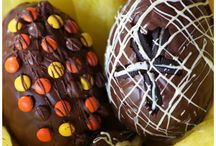Home-made Easter eggs