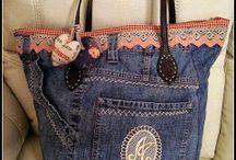 bolsos y jeans