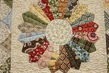 creative patchwork with applique and quilting