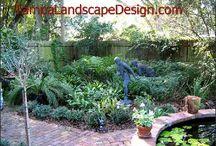 Classic English Garden: TampaLandscapeDesign.com