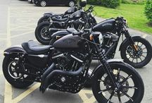 Harleys! Yes