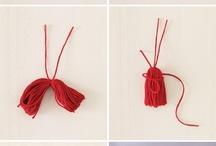 DIY : Pompons - Balles...