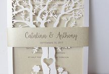 wedding invitations & save the date