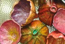λουλουδια απο πολυμερικο πηλο