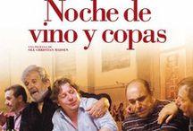 """El Vi al cinema: biblioteques amb DO / """"El vino y el cine son dos productos que maduran en la oscuridad para salir a la luz""""   (Bernardo Sánchez)"""