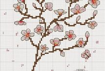 вышивка - весна