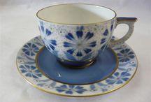 vintage porcelain beauty / Famous porcelain pieces, in vintage style.