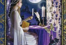 High priestess Tarot cards