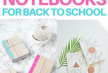 DIY BACK TO SCHOOL