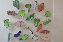 Vegebadge ・ ベジバッジ / Goods labeling of vegetables  お野菜のラベリング グッズ  Clip labeling of vegetables お野菜のラベリングクリップ