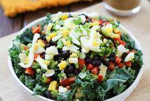 Salad noms  / Eat your greens.
