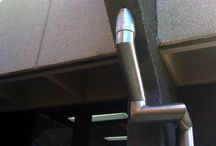 "Downpipes.  / Stainless 6"" downpipes"