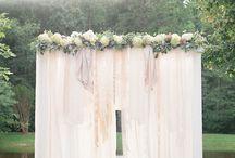 Summer/spring wedding ideas