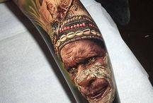 Steve butcher / tattoo realism