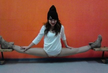 Never give up. / Dance is my life , my happiness and my die