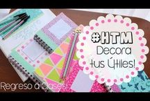 ideas para cuadernos....