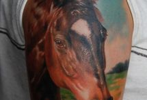Tattoos with Horses