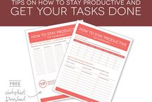 Planner Ideas For Work / There comes a time when you have to get your stuff together. Here are a few planner ideas for work that you can use.