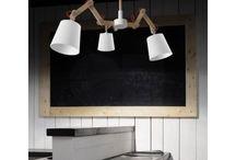 Φωτιστικά με ξύλο - Wooden Luminaires / Φωτιστικά με ξύλο/Wooden Luminaires