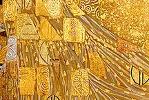 Gustav Klimt ...desafios ! /   Como não se deslumbrar diante de tanta beleza???