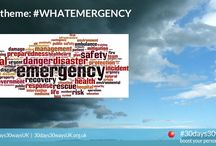 #prepared #WhatEmergency / What exactly is an emergency? Also, knowing about past events can help you to be better prepared for the future. Check out these FREE UK RESOURCES from trusted partners. Find out more about #30days30waysUK by visiting the website at http://30days30waysUK.org.UK