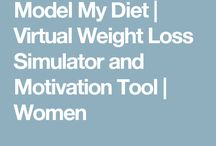 Model my diet weight loss simulator