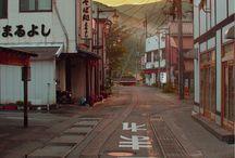 streets japan