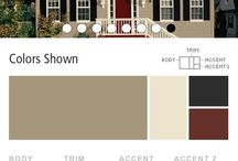 what color to paint my house / by Robyn Shiflett