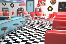Jackson's American Diner / Martijn and I have a crazy dream that one day we want to open our own american restaurant. / by Susannah Jackson
