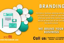 Branding / This board have a designs about brand promotion and why branding is important to business