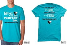 Intact Merchandise / Show your support for ending routine infant circumcision.