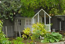 Mud Kitchen / Cubby Houses / Play Areas