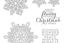 Stampin up - Flurry of Wishes