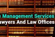 Law Office Management Services / Looking for a company to outsource your law firm management tasks? Contact Cogneesol for daily filing, case management, drafting documents and contracts, etc.