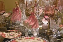 ladies tea party setting