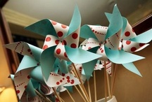 Party - papagaios e cataventos (Kites and Pinwheels)