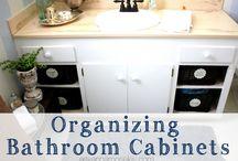 Łazienka - organizacja / Organizacja w łazience