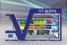 VI-JOHN at Beauty World 2015, Dubai / Quality and delivery is never compromised. #QualityStandBuilders #TeamPromoEventsUAE contact for any query on sanjeev@promoeventsuae.com