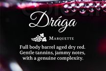 Drága / Drága is our full body barrel aged dry red made from Marquette. Gentle tannins, jammy notes, with a genuine complexity.