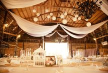 rustic wedding decorations / by Vickie Knight