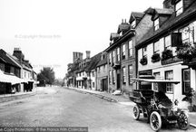 Vintage Cars & Motoring / Here we feature a special selection of Frith photographs and some other favourite images of those years of early motoring, in all their running-boarded, leather-goggled splendour!