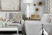 LIVING SPACES / Living rooms in different shapes, sizes and styles.