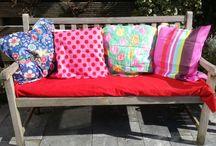 Garden bench and outdoor