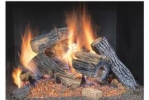 Ceramic Fireplace Logs