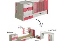 Rostoucí postýlka Noly / Čárymáryfuk a z jednoho je pět! Podívejte se, jak krok za krokem vzniká z dětské postýlky Noly pět nových kusů nábytku do dětského pokoje. Více info na http://goo.gl/va9xNo